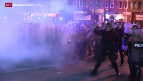 Video «Wieder Unruhen in Baltimore» abspielen