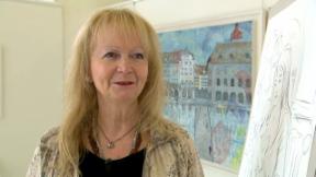 Video «Simone Fornara Erni: Eine Künstlerin geht ihren Weg» abspielen