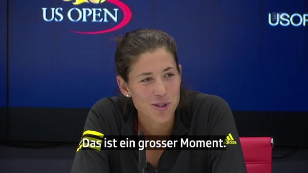 Video «Die Tenniswelt gratuliert Mama Serena Williams» abspielen