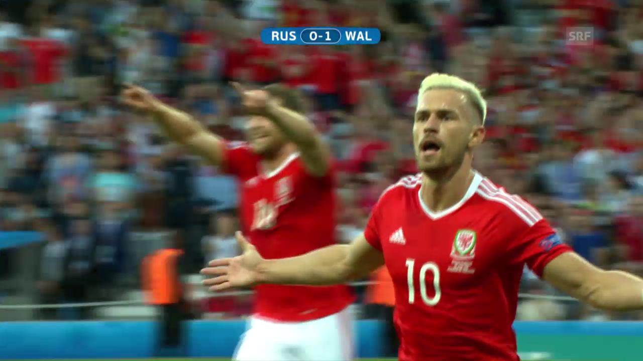 Zusammenfassung Wales - Russland