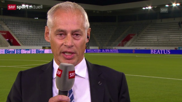 Video «Fussball: Super League, Interview mit Luzern-Präsident Stäger» abspielen