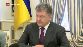 Video «Neue Spannungen zwischen Russland und der Ukraine» abspielen