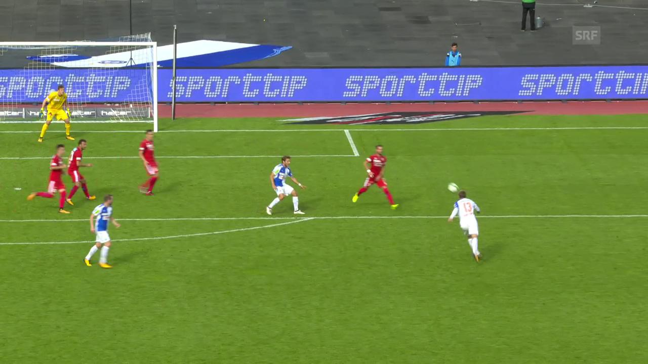 Emil Bergströms Traumtor zum 2:2 gegen Sion