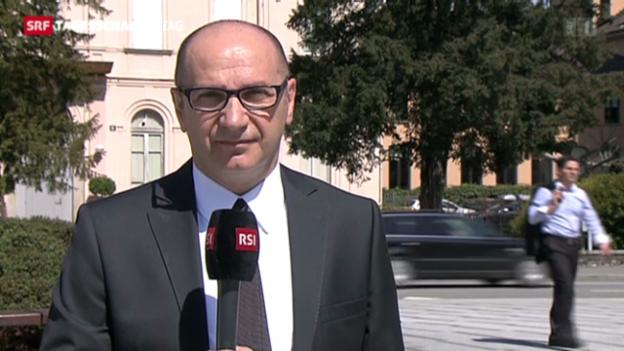Video «Einschätzungen von SRF-Korrespondent Mario Carnevale, Lugano» abspielen