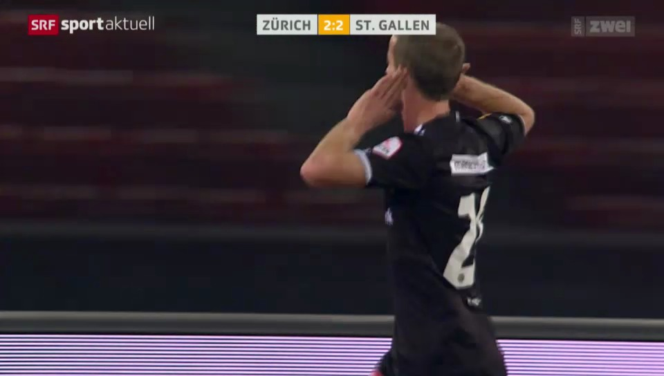 Fussball: Super League, FCZ - St. Gallen