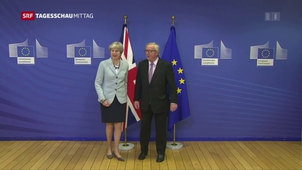 Video «Fortschritte bei den Brexit-Verhandlungen» abspielen