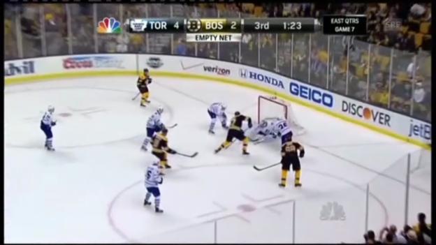 Video «NHL: Maple Leafs - Boston Bruins» abspielen