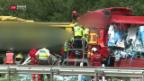 Video «Tote und Verletzte nach schwerem Unfall» abspielen