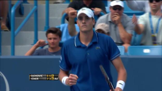 Video «Isner-Djokovic: Die Entscheidung» abspielen