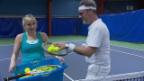 Video «Timea Bacsinsky: Die Tennisspielerin spielt in einem Videoclip» abspielen