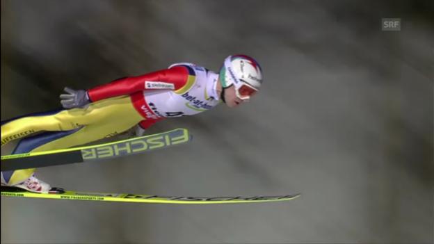 Video «Simon Ammanns 2. Sprung («sportlive»)» abspielen