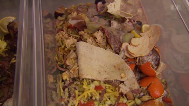 Video «Hotels gegen Foodwaste: Kunden erhalten kleinere Portionen» abspielen