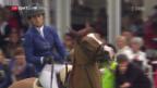 Video «Sprunger in St. Gallen auf dem Podest» abspielen