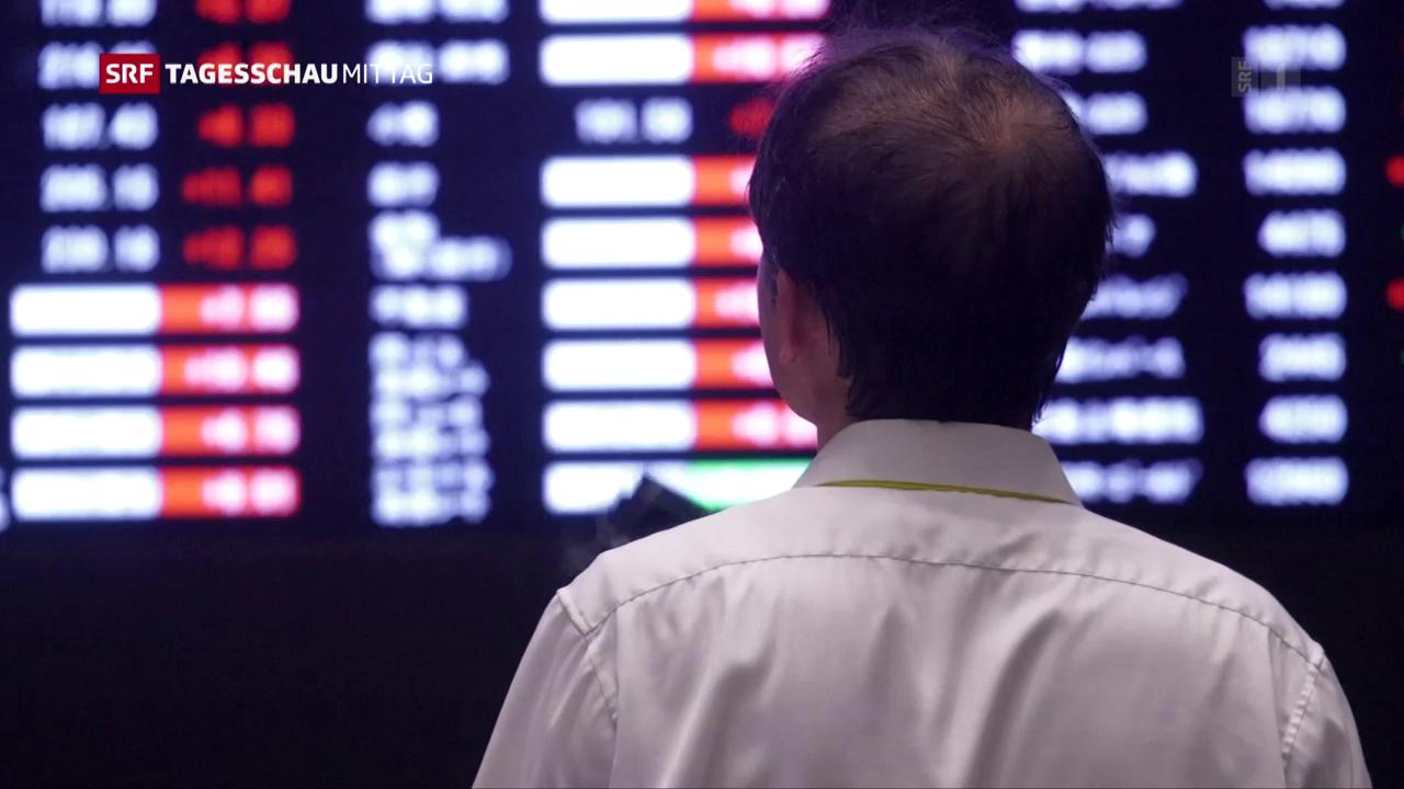 Börsen-Turbulenzen halten an