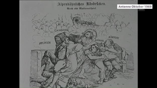 Video «Der Gotthardvertrag mit Italien und Deutschland» abspielen