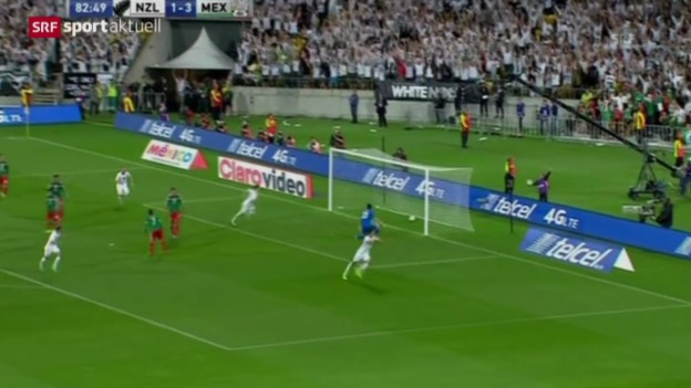 Video «WM-Barrage: Mexiko - Neuseeland» abspielen