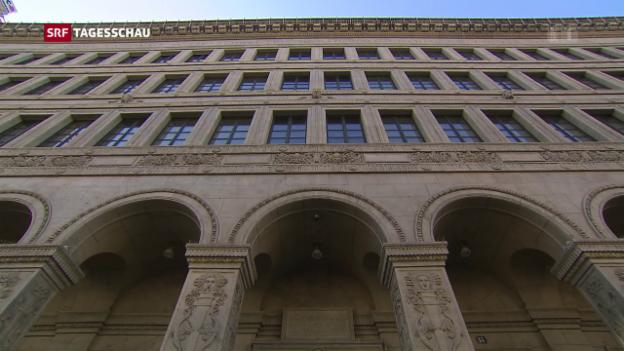 Video «Nationalbank ändert Leitzins nicht» abspielen