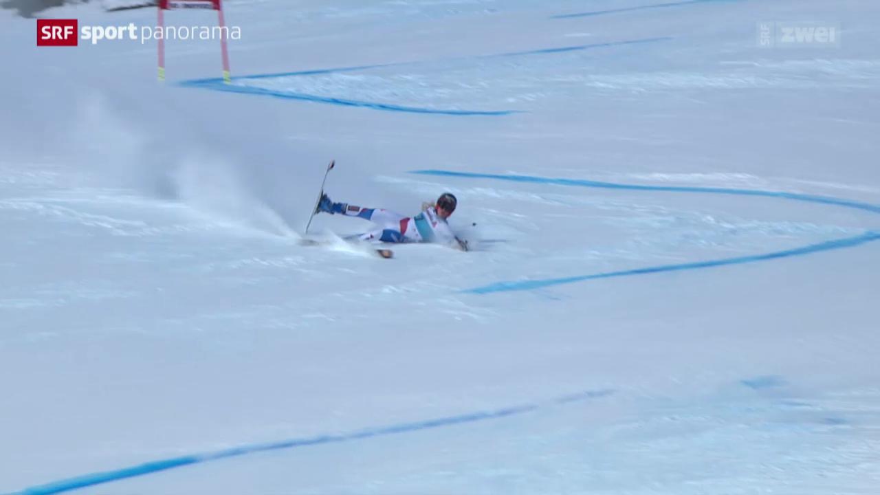 Ski: Riesenslalom Frauen in St. Moritz