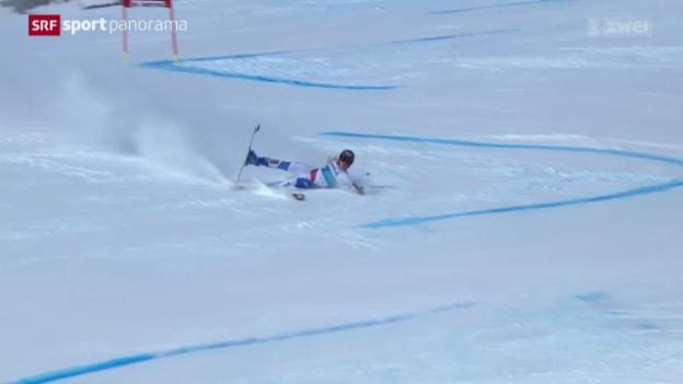 Video «Ski: Riesenslalom Frauen in St. Moritz» abspielen