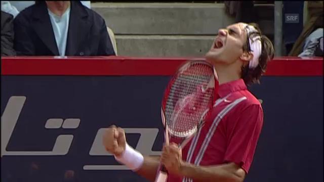 Federers Triumph in Hamburg 2007