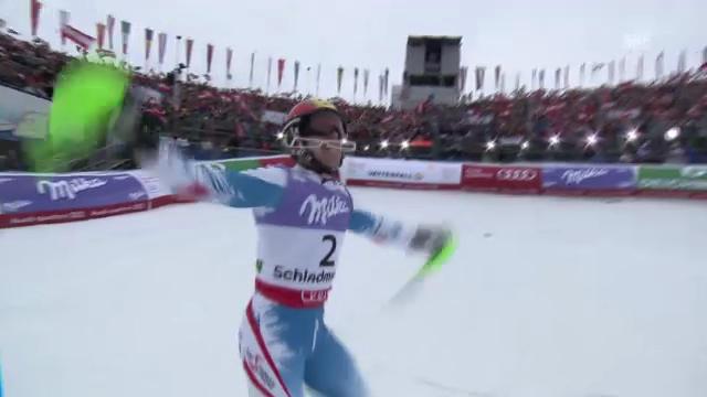 WM-Slalom: 2. Lauf Hirscher