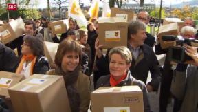 Video «CVP-Familieninitiative als Steuergeschenk für Reiche?» abspielen
