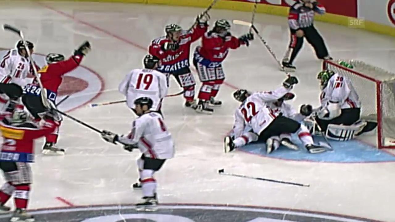 Eishockey: Testspiel Schweiz-Kanada von 2006