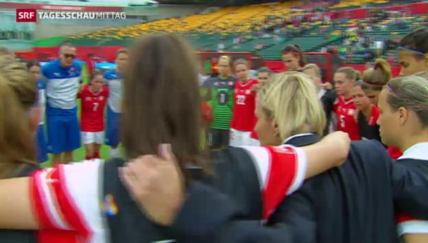 Video «Schweizerinnen im Achtelfinal» abspielen