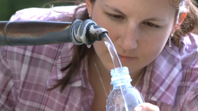 Wasser ist zum Trinken da – aber nicht immer