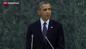 Video «Barack Obama vor der UNO-Vollversammlung» abspielen
