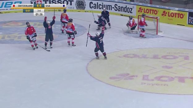 Video «Matchbericht Schweiz-USA» abspielen