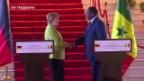 Video «Schwierige Afrika-Mission der Bundeskanzlerin» abspielen