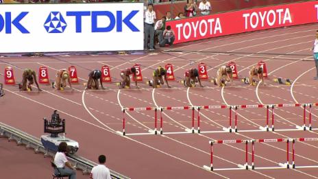 Video «Leichtathletik: WM in Peking, Final mit Zbären» abspielen
