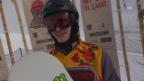 Video «Snowboard.: European Open, Halfpipe Männer, 1. Run Podladtchikov» abspielen