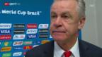 Video «Schweiz-Argentinien: Interview mit Ottmar Hitzfeld» abspielen