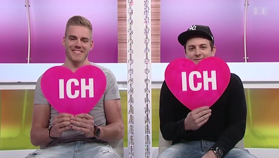 «Ich oder Du»: Fabio Leimer und Dominik Kraihamer