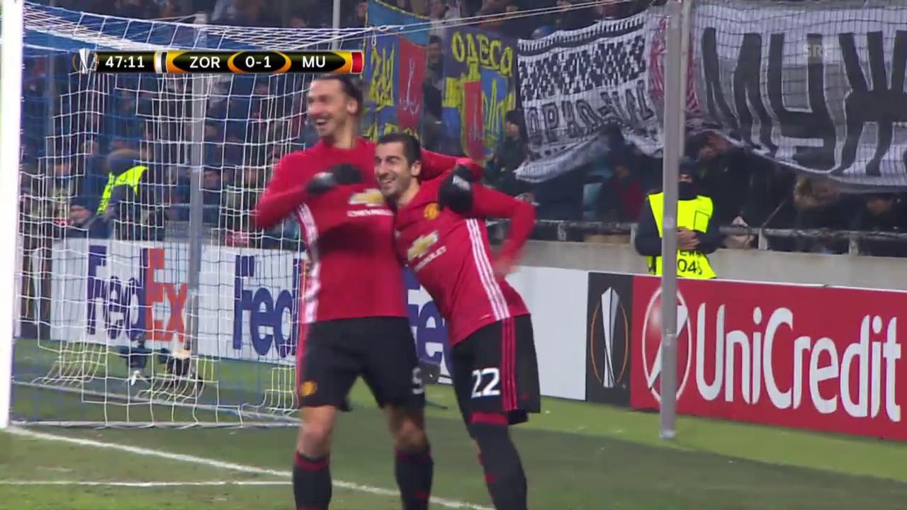 Manchester United lässt gegen Lugansk nichts anbrennen