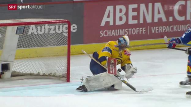 Video «Eishockey: NLA, Playoff-Final, ZSC Lions - Davos» abspielen