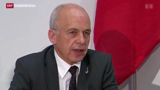 Video «Herber Schlag für Verteidigungsminister Maurer» abspielen