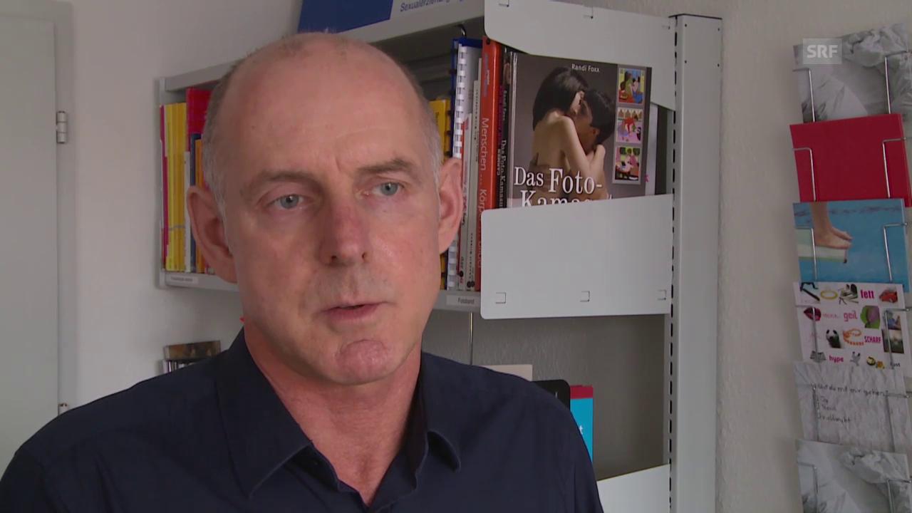 Stefan Lenz, Sexualpädagoge bei «Lust und Frust»