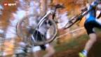 Video «Radquer: Hilfe von den Mountainbikern» abspielen
