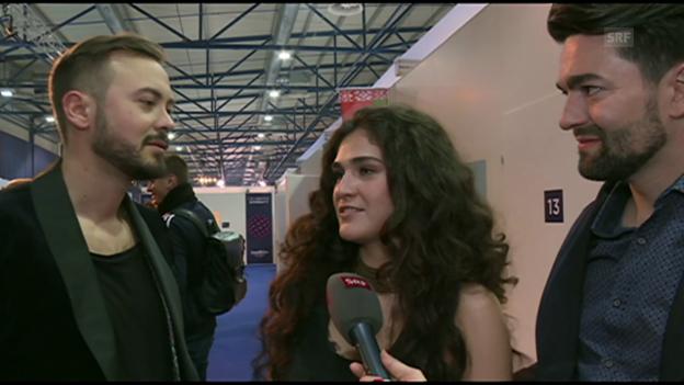 Video ««Timebelle» im Interview» abspielen