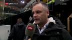 Video «SCB-Konditionstrainer Fuchs vor dem Spiel gegen Davos» abspielen