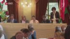 Video «Thurgau hält an Frühfranzösisch fest» abspielen