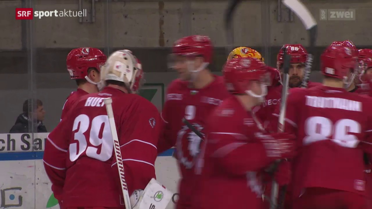 Eishockey: NLA, Lausanne - Kloten
