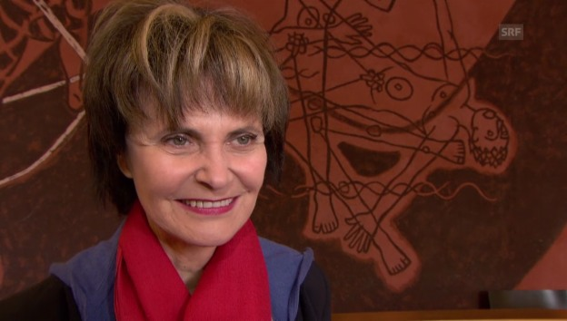Video «Micheline Calmy-Rey über ihre Autoren-Karriere» abspielen