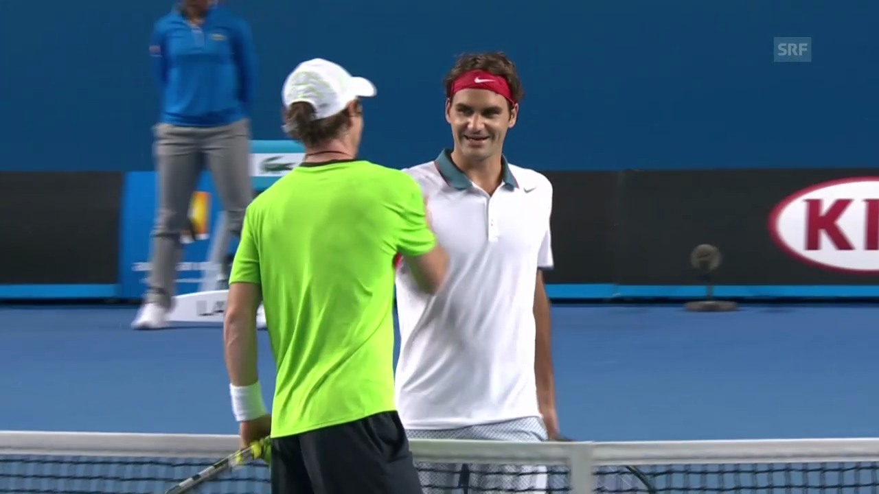 Tennis: Australian Open, Highlights Federer - Kavcic («sportlive», 16.1.2014)