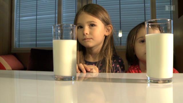 Die richtige Milchmenge