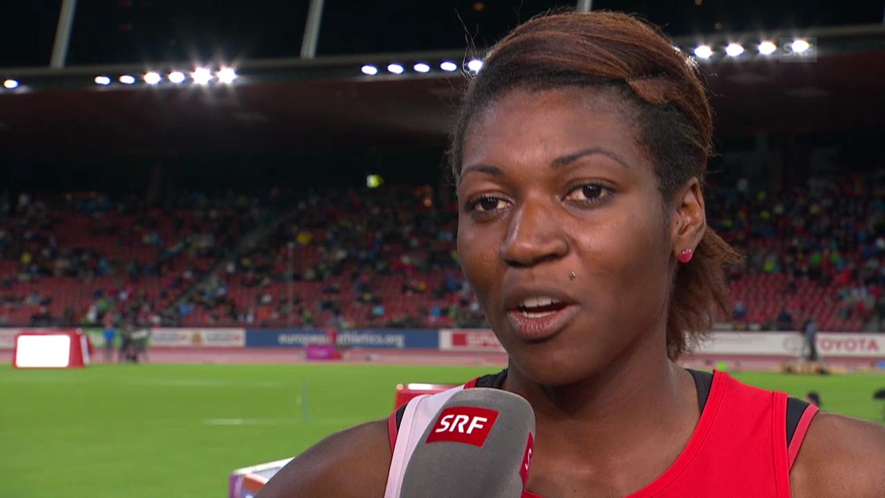Leichtathletik: Siebenkämpferin Valérie Reggel im Interview
