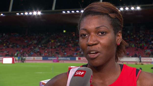 Video «Leichtathletik: Siebenkämpferin Valérie Reggel im Interview» abspielen